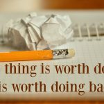 Words on Wednesday – A Thing Worth Doing
