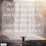 Words on Wednesday – On Doing Hard Things