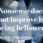 Words on Wednesday – Nonsense