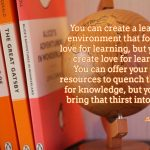 Words on Wednesday – Love of Learning