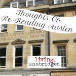 On Re-Reading Austen