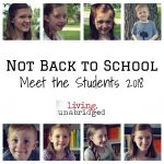 Back to Homeschool: Meet the Students 2018